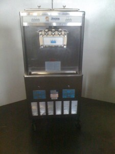 Taylor soft serve yogurt machines