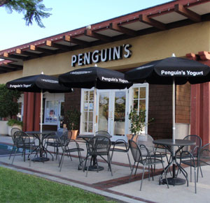Penguins frozen yogurt