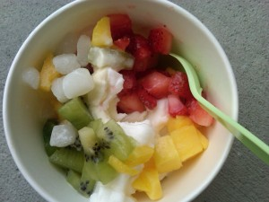 healthy frozen yogurt